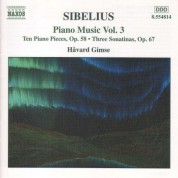 Sibelius: Piano Music, Vol.  3 - CD