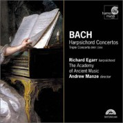 Richard Egarr, Andrew Manze, The Academy of Ancient Music: J.S. Bach: Harpsichord Concertos - CD