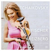 Julia Fischer, Russian National Orchestra, Yakov Kreizberg: Tchaikovsky: Violin Concerto in D, Op. 35 - Serenade Melancolique, Op. 26 - SACD