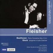 Leon Fleisher: Beethoven: Piano Concertos Nos 2 & 4 - CD