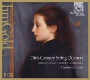 Cuarteto Casals: 20th-Century String Quartets - CD