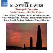 Sir Peter Maxwell Davies: Maxwell Davies: Trumpet & Piccolo Concertos - CD