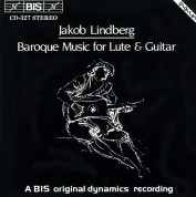 Jakob Lindberg: Baroque Music for Lute and Guitar - CD