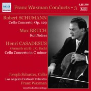 Joseph Schuster: Franz Waxman Conducts, Vol. 3 - CD