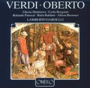 Münchner Rundfunkorchester, Lamberto Gardelli: Verdi: Oberto - Plak