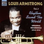 Louis Armstrong: Armstrong, Louis: Rhythm Saved The World (1934-1936) - CD