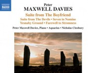 Aquarius, Nicholas Cleobury, Sir Peter Maxwell Davies: Peter Maxwell Davies: Suite from