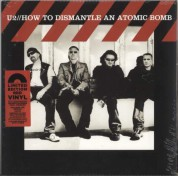 U2: How To Dismantle An Atomic Bomb (Red Vinyl) - Plak
