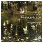 Emmanuelle Bertrand, Pascal Amoyel: Saint-Saens: Sonata no.1 & Suite op.16 - CD