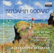 Alessandro Deljavan: Godard: Piano Works - CD