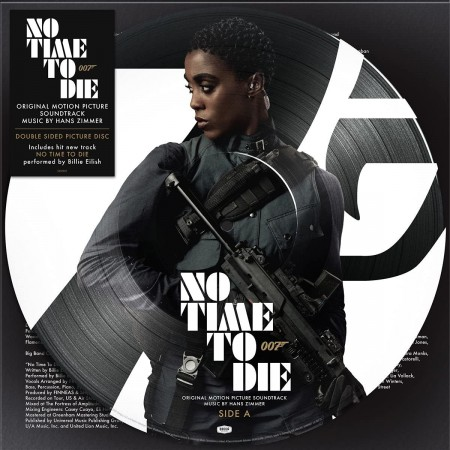 Hans Zimmer: No Time To Die (Girl Power - Limited Edition Nomi Picture Disc) - Plak
