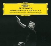 Berliner Philharmoniker, Herbert von Karajan: Beethoven: Symphonien No. 3+4 - CD