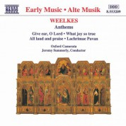 Weelkes: Anthems - CD