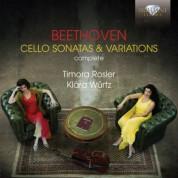 Timora Rosler, Klára Würtz: Beethoven: Complete Cello Sonatas & Variations - CD