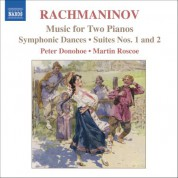 Rachmaninov: Music for 2 Pianos - CD