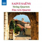 Fine Arts Quartet: Saint-Saens: String Quartets Nos. 1 & 2 - CD
