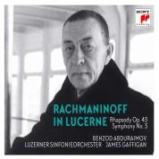 Behzod Abduraimov: Rachmaninoff In Lucerne: Rhapsody On A Theme By Paganini / Symphony 3 - CD