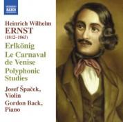 Josef Spacek: Ernst: Erlkönig - Le Carnaval de Venise - CD