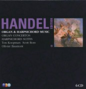 Ton Koopman & Scot Ross: Handel: Organ & Harpsichord Music - CD
