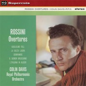 Sir Colin Davis, Royal Philharmonic Orchestra: Rossini: Overtures - Plak