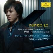 Yundi Li, Berliner Philharmoniker, Seiji Ozawa: Prokofiev/ Ravel: Piano Concertos - CD