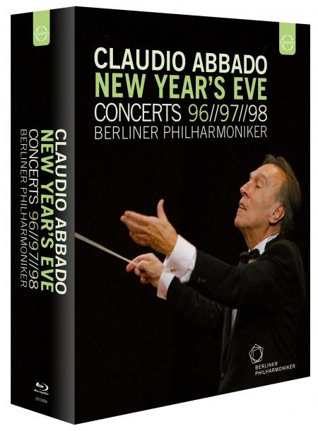 Berliner Philharmoniker, Claudio Abbado: New Year's Eve Concerts 96/97/98 - BluRay