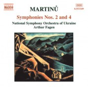 Martinu: Symphonies Nos. 2 and 4 - CD