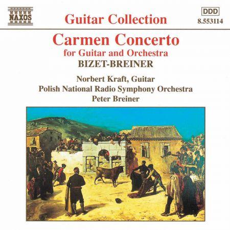 Bizet- Breiner: Carmen Concerto / Granados: Valses Poeticos - CD