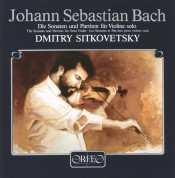 Dimitry Sitkovetsky: J.S. Bach: Sonaten & Partiten für Violine - Plak