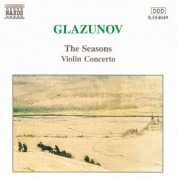Glazunov: Violin Concerto in A Minor / The Seasons - CD
