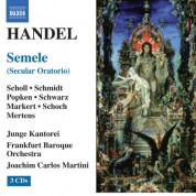Joachim Carlos Martini: Handel, G.: Semele [Oratorio] - CD