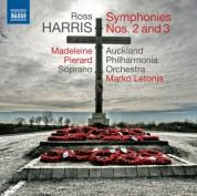 Marko Letonja: Ross Harris: Symphonies Nos. 2 & 3 - CD