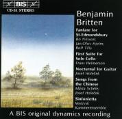 Bo Nilsson, Jan-Olof Hjelm, Rolf Tilly, Frans Helmerson, Josef Holocek, Märta Schéle, Vestjysk Kammerensemble: Britten: Fanfare for St. Edmondsbury and other works - CD
