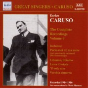Caruso, Enrico: Complete Recordings, Vol.  9 (1914-1916) - CD