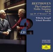 Wilhelm Kempff, Yehudi Menuhin: Beethoven: Violinsonaten II - CD