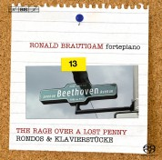 Ronald Brautigam: Beethoven: Complete Works for Solo Piano, Vol. 13 on forte-piano (Rondos & Klavierstücke) - SACD