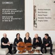 Yevgeny Sudbin, Diemut Poppen, Alexander Chaushian, Hrachya Avanesyan, Boris Brovtsyn: Schumann, Brahms: Piano Quartet - SACD