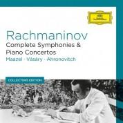 Lorin Maazel, Tamás Vásáry, Yuri Ahronovitch, Berliner Philharmoniker, London Symphony Orchestra: Rachmaninov: Complete Symphonies & Piano Concertos - CD