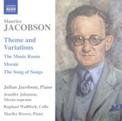 Julian Jacobson: Jacobson: Theme & Variations - CD