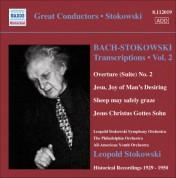 Leopold Stokowski: Bach, J.S.: Stokowski Transcriptions, Vol. 2 (Stokowski) (1929-1950) - CD