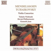 Takako Nishizaki: Mendelssohn: Violin Concerto in E Minor / Tchaikovsky: Violin Concerto in D Major - CD