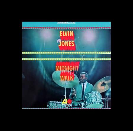 Elvin Jones: Midnight Walk - Plak