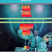 Elvin Jones: Midnight Walk - Plak