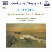Alexander Anisimov: Glazunov, A.K.: Orchestral Works, Vol.  5 - Symphonies Nos. 2 and 7,