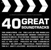 Çeşitli Sanatçılar: 40 Great Soundtracks - CD