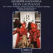 Stefan Soltesz, Münchner Rundfunkorchester, John Aler, Pamela Coburn: Gazzaniga: Don Giovanni - Plak