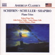 Schifrin / Schuller / Shapiro: Piano Trios - CD