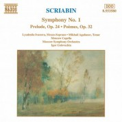 Scriabin: Symphony No. 1 / Reverie, Op. 24 / 2 Poems, Op. 32 - CD