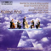 Sinfonia Lahti Chamber Ensemble: Aho: Oboe Quintet - CD