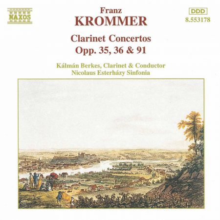 Krommer: Clarinet Concertos Opp. 35, 36 and 91 - CD
